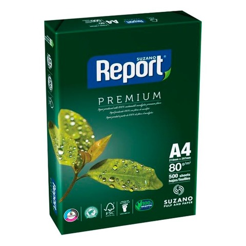 Resma A4 Report 80grs x5