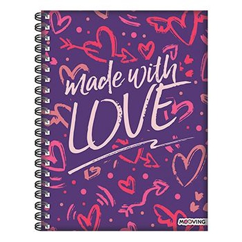 Cuaderno Universit. Mooving 120hs Love Made with love