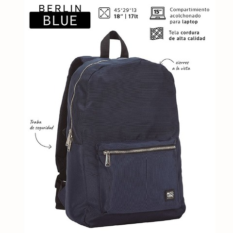 Mochila Mooving Berlin Blue 18 71321