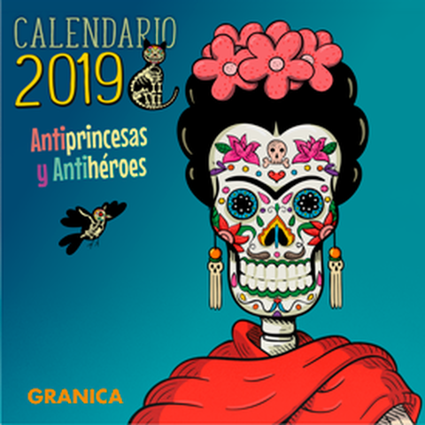 Calendario 2019 de pared Antiprincesas