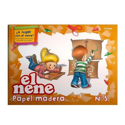 Block de dibujo Nº5 Papel Mader El nene 24Hojas