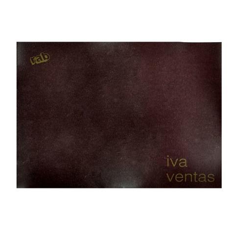 Libro Rab Iva Ventas TF-48 Folios