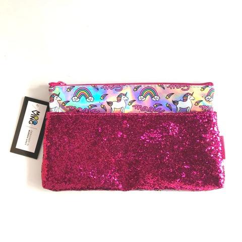 Canopla Sobre con bolsillo Glitter Kawaii