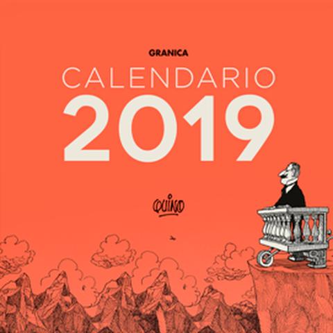 Calendario 2019 de pared Quino