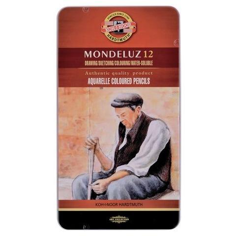 Lápiz Kohinoor Acuarelable Mondeluz lata x12