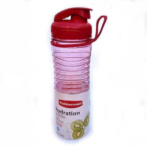 Botella Reutilizable Rubbermaid 600ml Hydra Magenta