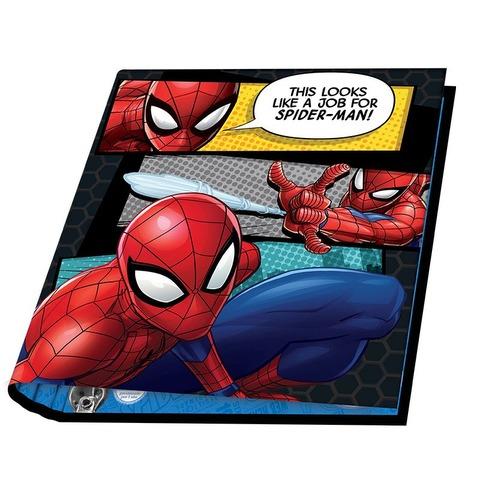 Carpeta Nº3 3x40 Mooving Spiderman Fondo Comics
