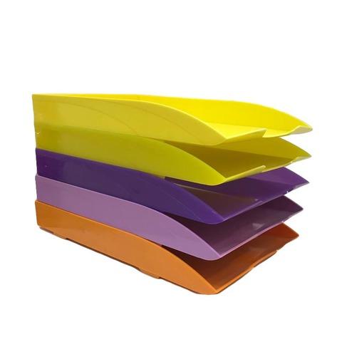 Bandeja Papelera Liggo Oficio 1 Piso Color