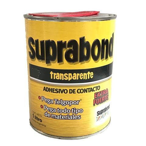 Adh. Cemento de Contacto Suprabond Lata 1 LT.