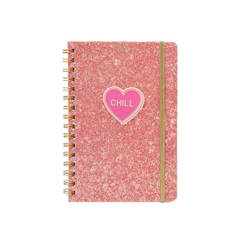 Cuaderno Chico Mooving A5 Glitter Patch Chill