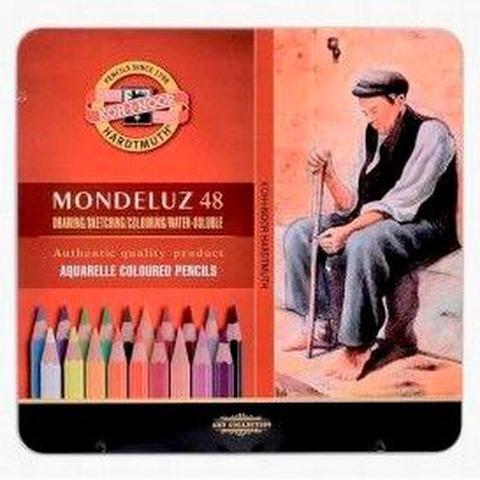 Lápiz Kohinoor Acuarelable Mondeluz lata x48