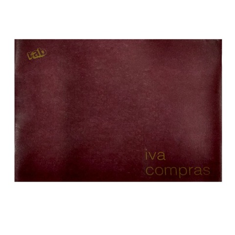 Libro Rab Iva Compras TD-100 Folios