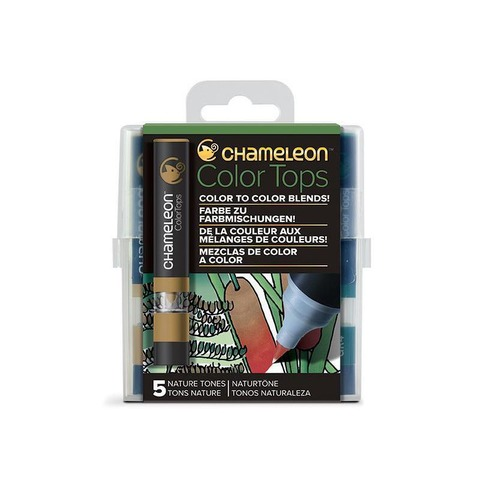 Color Tops Chameleon X5 Tonos Naturales