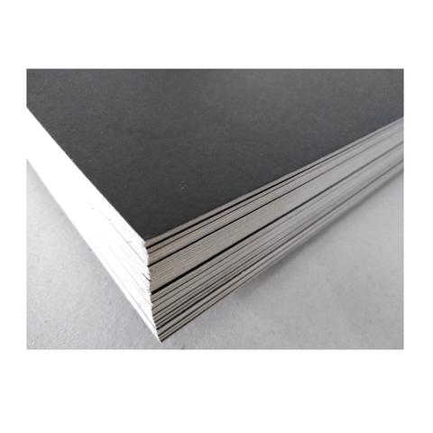 Cartón Montado Negro Estudiantil 35x50 Cm (1,5mm aprox.)