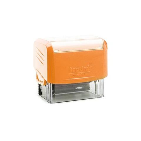 Sello 3 Líneas + Aparato Trodat 3911 Naranja Neon