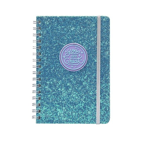 Cuaderno Chico Mooving A5 Glitter Patch great