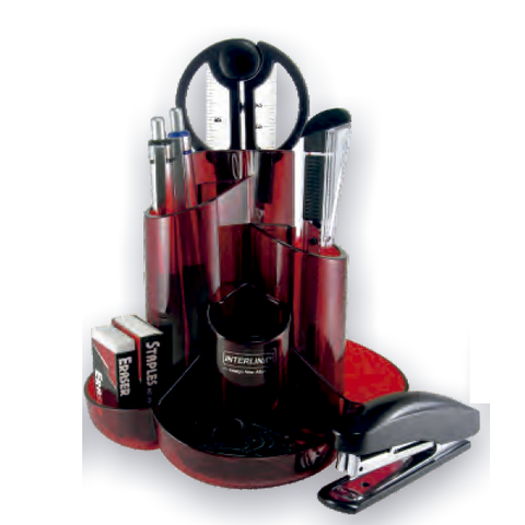 Portalápiz Organizador O-Life S-357 Rojo