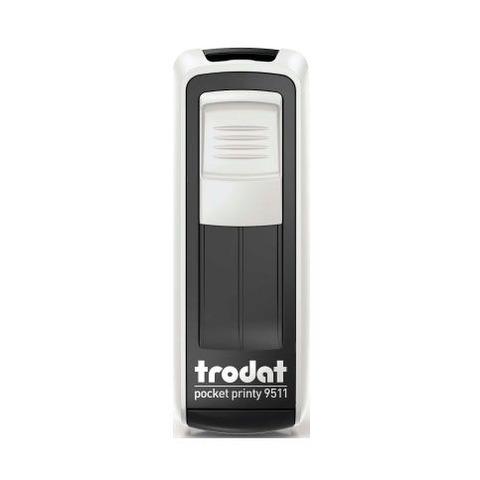 Sello 3 Líneas + Aparato Trodat Pocket 9511 N/B Tinta Azul