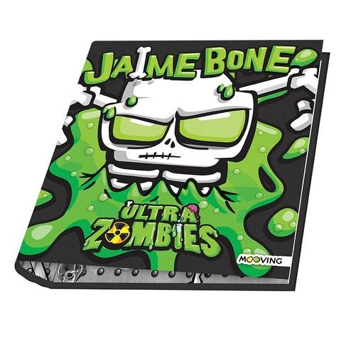 Carpeta Nº3 3x40 Mooving Ultra Zombies Jaime Bone