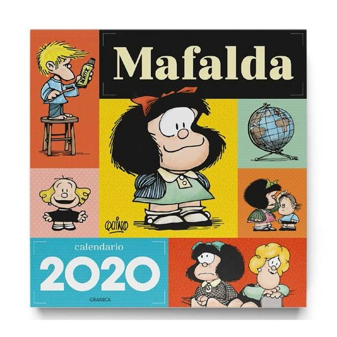 Calendario 2020 de pared Mafalda