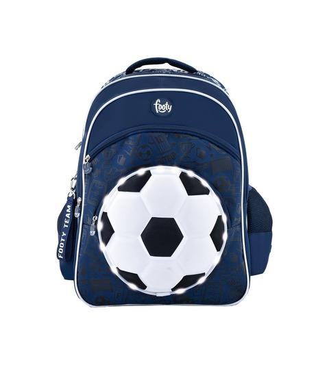Mochila Footy Soccer c/luz 18 F1113 Azul