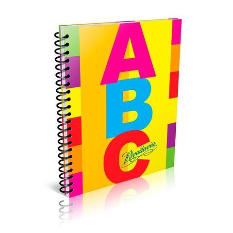 Cuaderno escolar Espiralado Rivadavia ABC x100