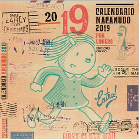 Calendario 2019 de pared Macanudo