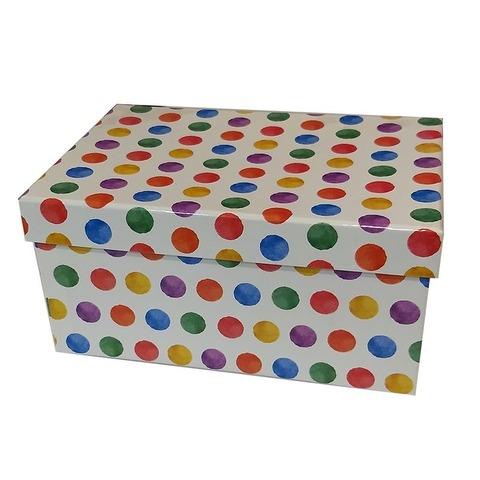 Caja de cartón plastificada Nº1 XXL