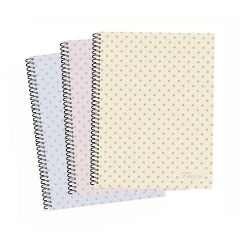 Cuaderno Colección metal x1 Raya Cuadro o Liso