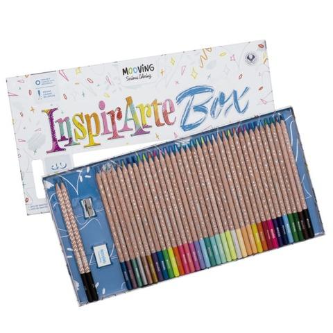 Mooving Coloring Inspirarte Box x40 piezas