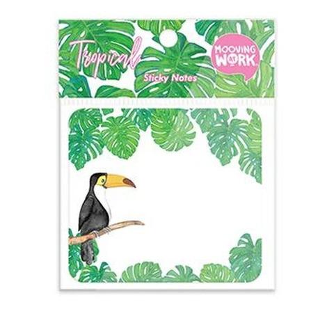 Notas Adhesivas Mooving Diseños-Tropical