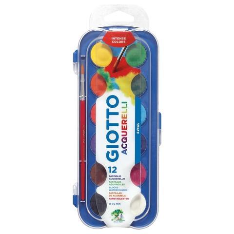 Acuarela Pax Giotto x12 colores + pincel
