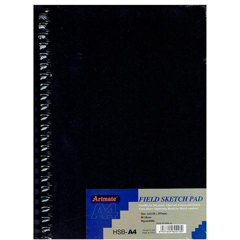 Block Artmate Boceto ( 96gr) (21x29,7cm) HSB-A4 Espiral