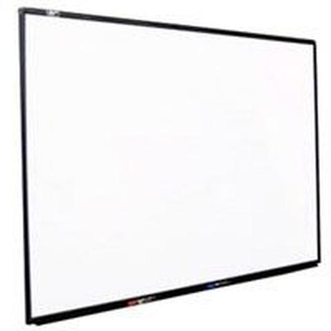 Pizarra Mundo Blanca 30x40cm