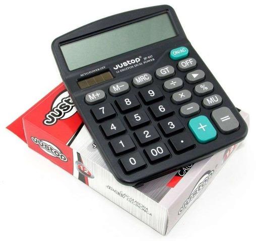 Calculadora Justop JP-837