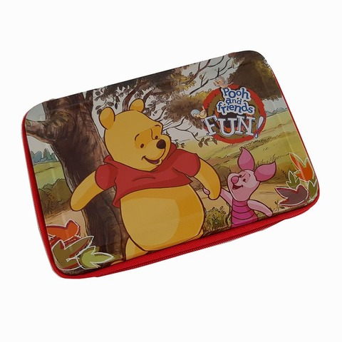 Cartuchera 1 Piso Lata Lic. Winnie Pooh