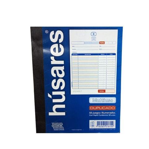 Talonario Presupuesto Húsares N°2 (15x18cm.)