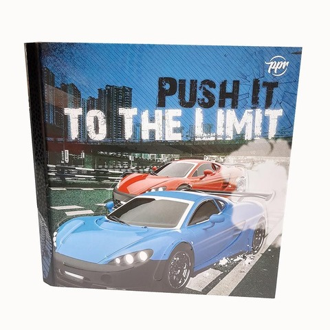 Carpeta Nº3 3x40 PPR Cartón Push It to the limit