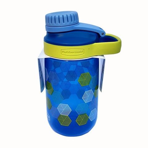 Botella Reutilizable Rubbermaid 414ml Leak Azul