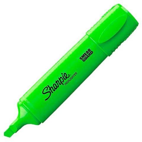 Resaltador Sharpie Highlighter Fluo Verde