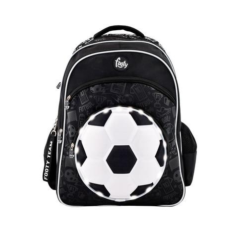 Mochila Footy Soccer c/luz 18 F1113 Negra