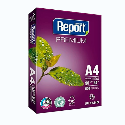 Resma A4 Report 90grs