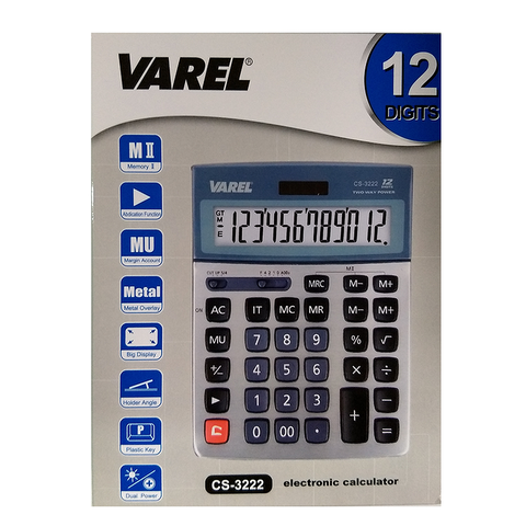 Calculadora Varel CS-3222