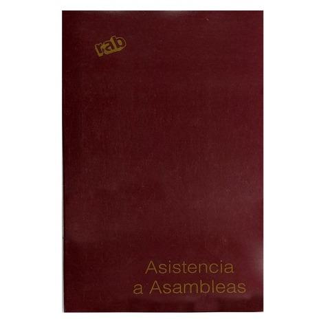Libro Rab Asistencia Asamblea TF-48 Folios