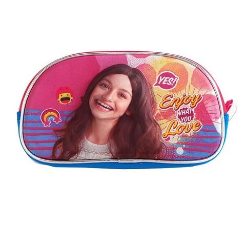 Cartuchera Canopla 3D 1 Cierre Soy Luna Enjoy Love