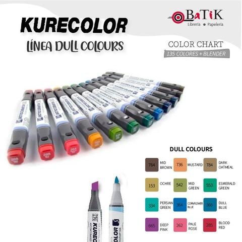 Marcador Kurecolor - Línea: Dull Colours (colores apagados)
