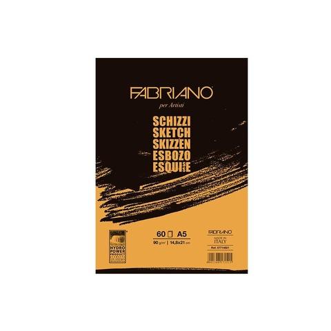 Block Fabriano Schizzi 90gr A5 (60h)