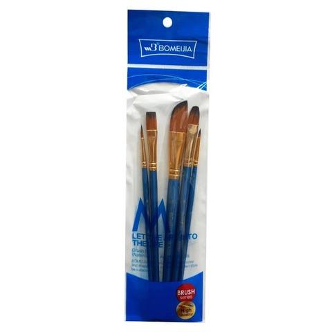 Pack de Pinceles Bomeijia x5 Sintéticos Fume