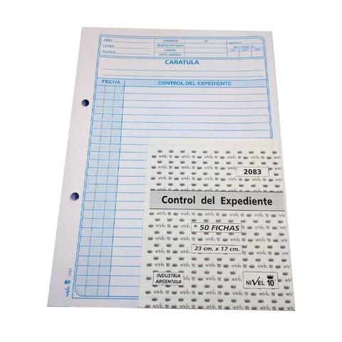 Ficha Control Expediente Judicial (2083)