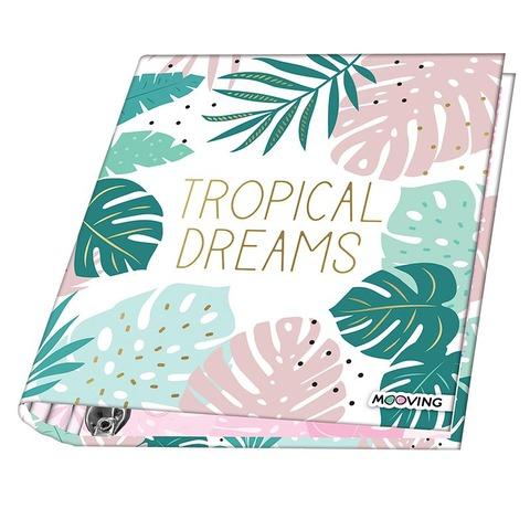 Carpeta Nº3 3x40 Mooving Tropical Dreams